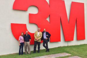 Visita Klaus North al Centro de Innovación de 3M